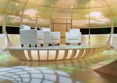 Jungle Jury televisiedecor