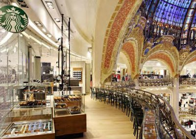 Starbucks Coffee Galeries Lafayette Parijs