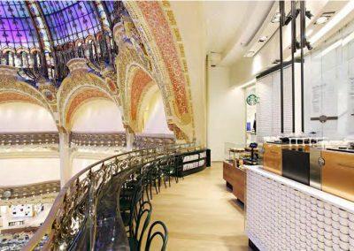 Starbucks Coffee Galeries Lafayette Parijs
